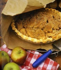 Brown Bag French Apple Pie