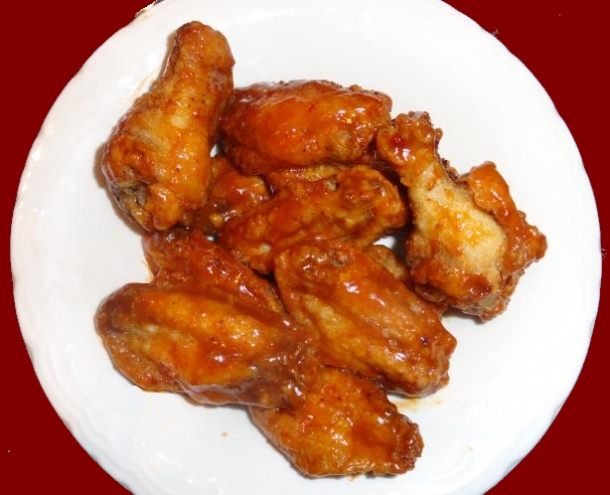 Spicy Barbecue Chicken Wings